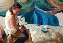 Painter Elizabeth Porritt Carrington artist Asheville NC