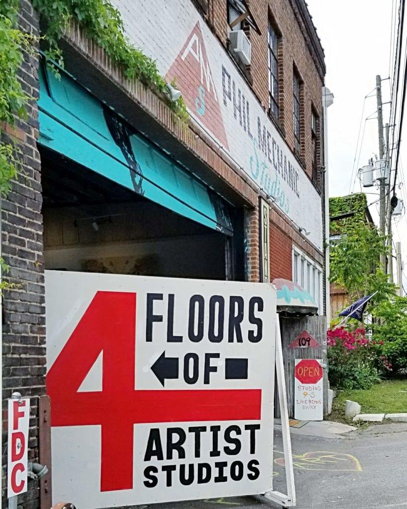 Phil Mechanic Building artist studios