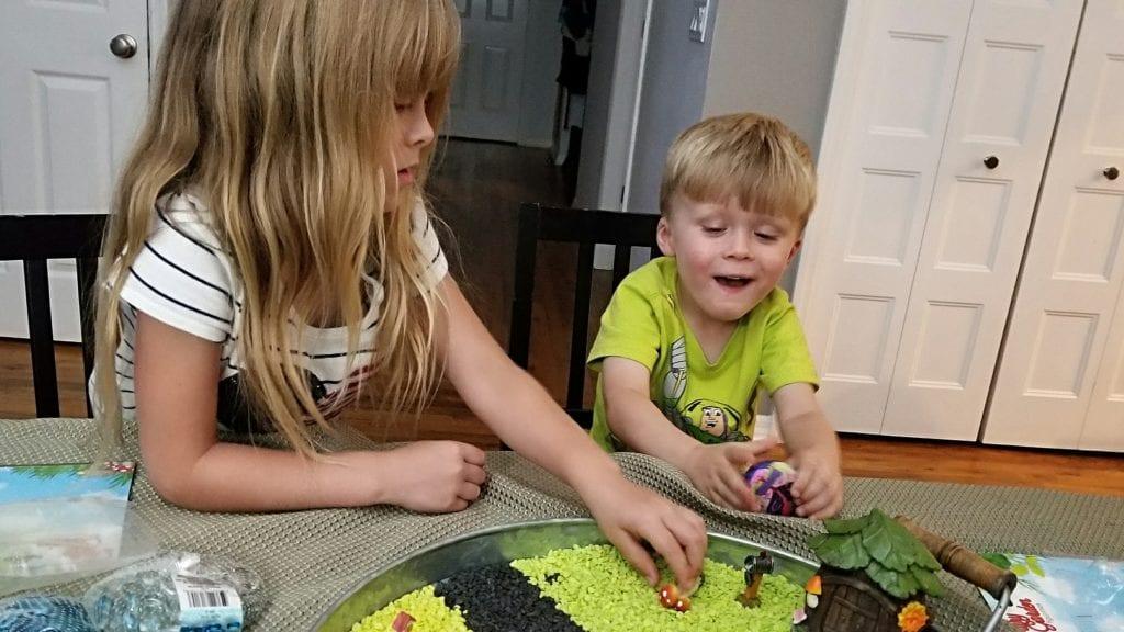 Easy DIY fairy garden project for kids