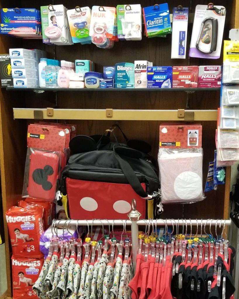 Disney Baby Care Center essential items