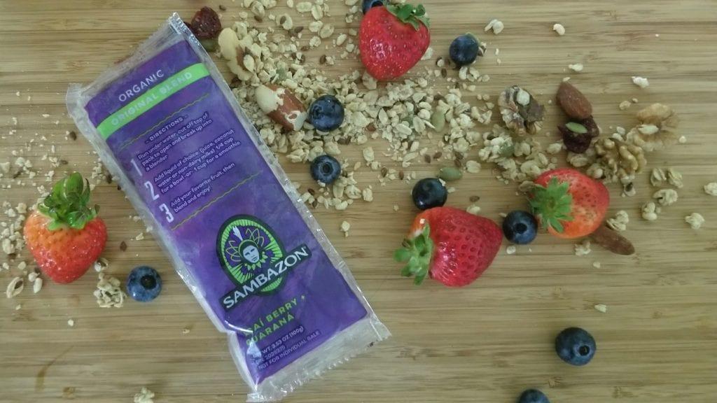 kid friendly breakfast Sambazon Acai Superfruit Packsmake a healthy breakfast for kids