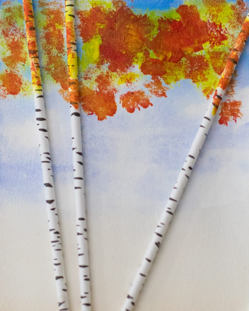 easy fall art projects for kindergarten
