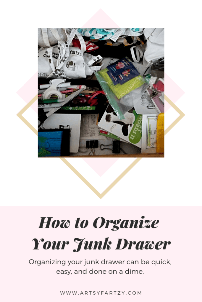 How to Organize Your Junk Drawer Easy