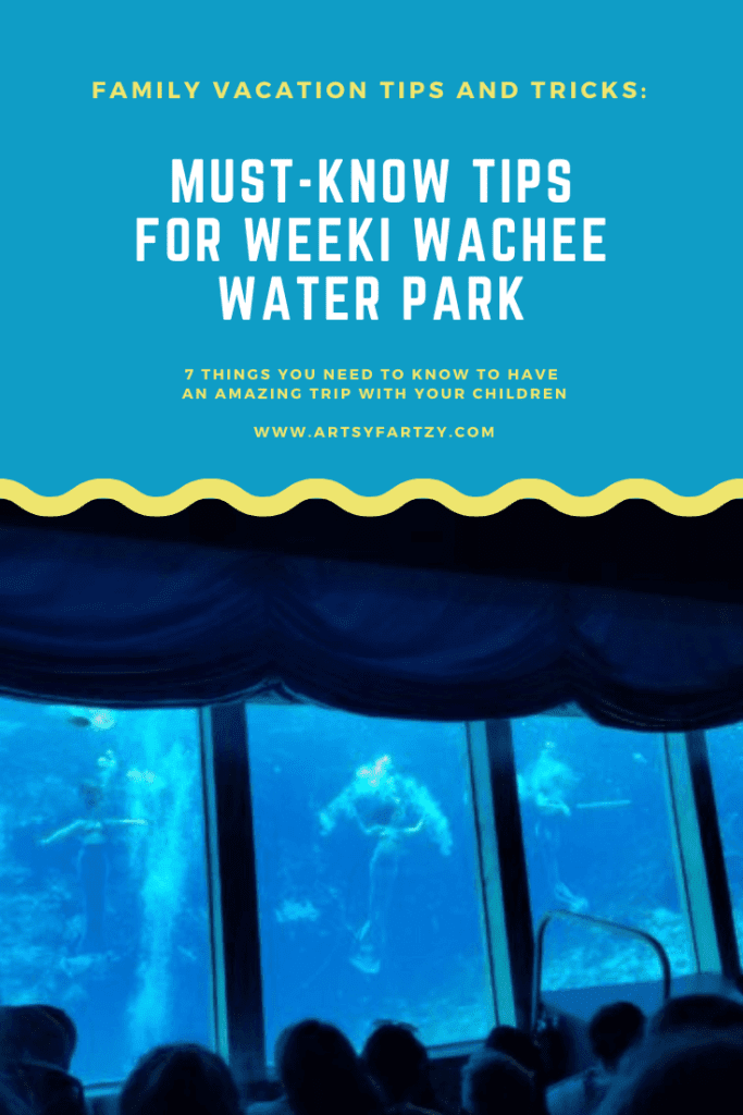 Tips for Weeki Wachee Water Park for an amazing Florida vacation with your family