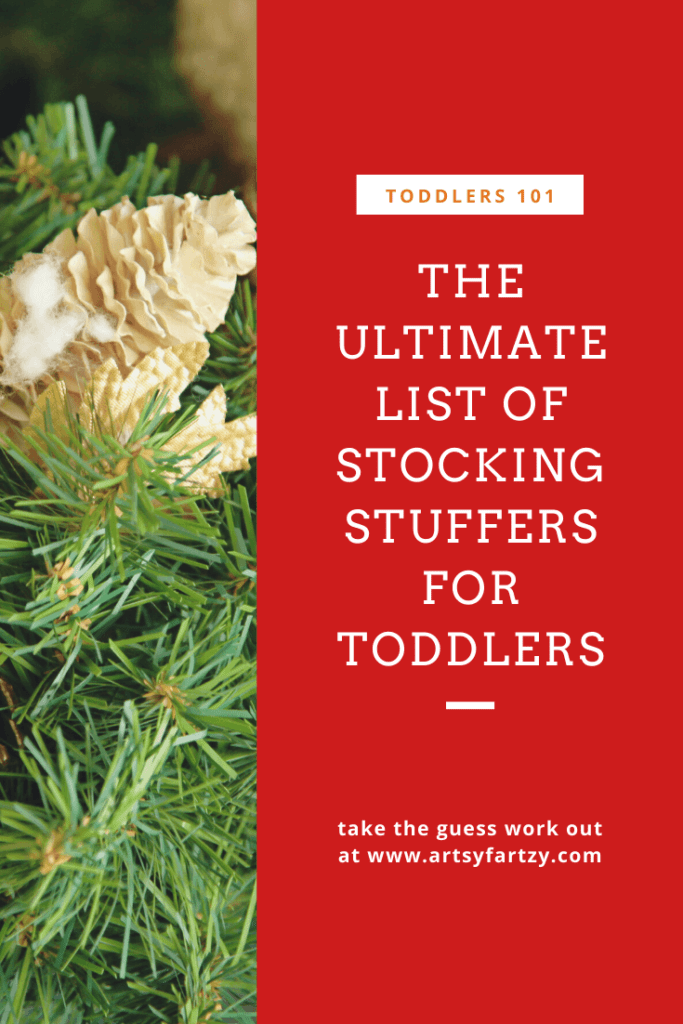 The ulltimate list of stocking stuffers for toddlers